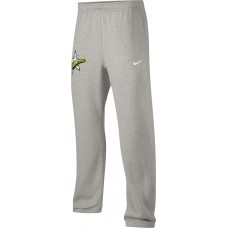 West TV 37: Youth-Size - Nike Team Club Fleece Drawstring Pants (Unisex) - Gray