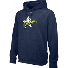 West TV 35: Youth-Size - Nike Team Club Fleece Training Hoodie (Unisex) - Navy Blue
